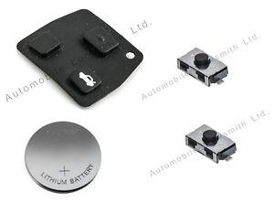 for toyota corolla yaris 2 button remote key diy repair. Black Bedroom Furniture Sets. Home Design Ideas