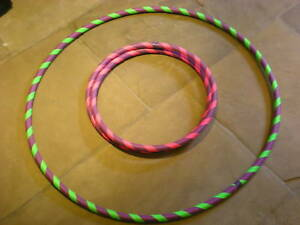 Travel-Collapsible-Weighted-Hoop-25mm-Tube-35-034-37-034-39-034-41-034-44-034-Free-P-amp-P