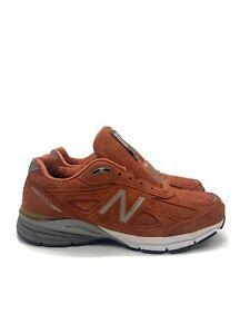 New-Balance-990V4-Mens-Running-Shoe-Jupiter-Burnt-Orange-M990JP4-Size-12-5
