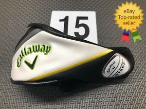 Callaway Epic Flash Professional Staff Rescue Hybrid Head Cover! Rare! Excellent