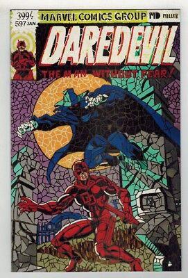 DD #158 - FRANK MILLER VARIANT COVER DAREDEVIL #597 SHATTERED COMICS HOMAGE