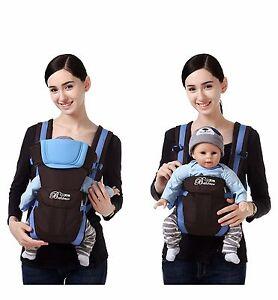 New Newborn Infant Adjustable Comfort Baby Carrier Sling Rider