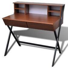 writing desks home office. writing desk computer laptop table w shelf drawer study home office workstation desks