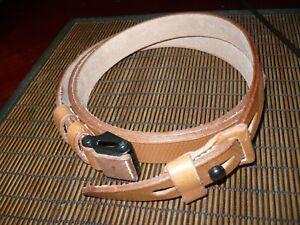 mauser m48 sling/ carry strap med-brown/ tan color,mauser gun parts,sling only