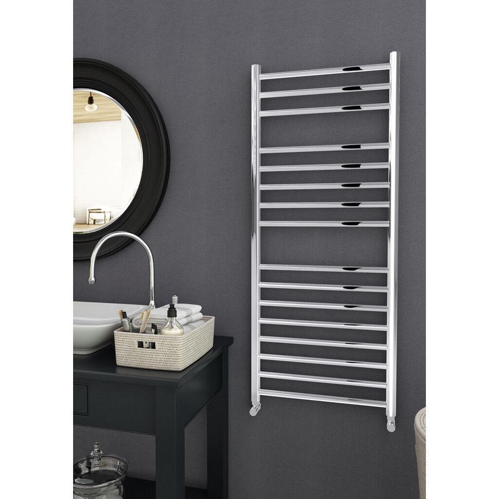 Acier Inoxydable échelle sèche-serviettes Radiateur Designer salle de bain Straight