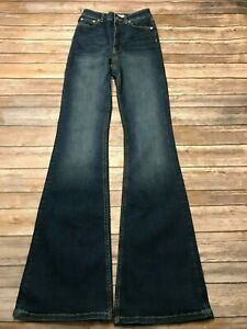 dc958348 Image is loading NWT-Zara-Skinny-Fit-Flare-Jeans-Size-2