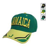 Jamaica Baseball Cap Hat Reggae Kingston Marley Usian Cool Runnings 1 Sz Fit