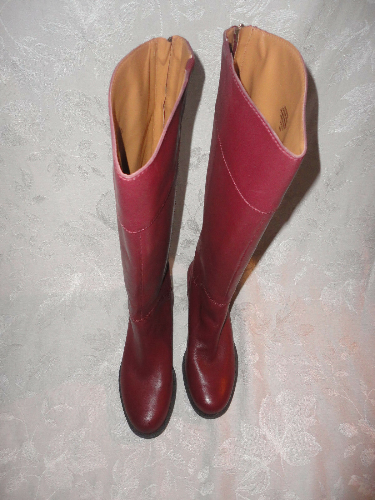 Nine West Vintage American COUNTER boots in WINE Größe 6 NEU box 169 VACOUNTER