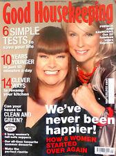 Good Housekeeping Magazine September 2007 Dawn French and Jennifer Saunders