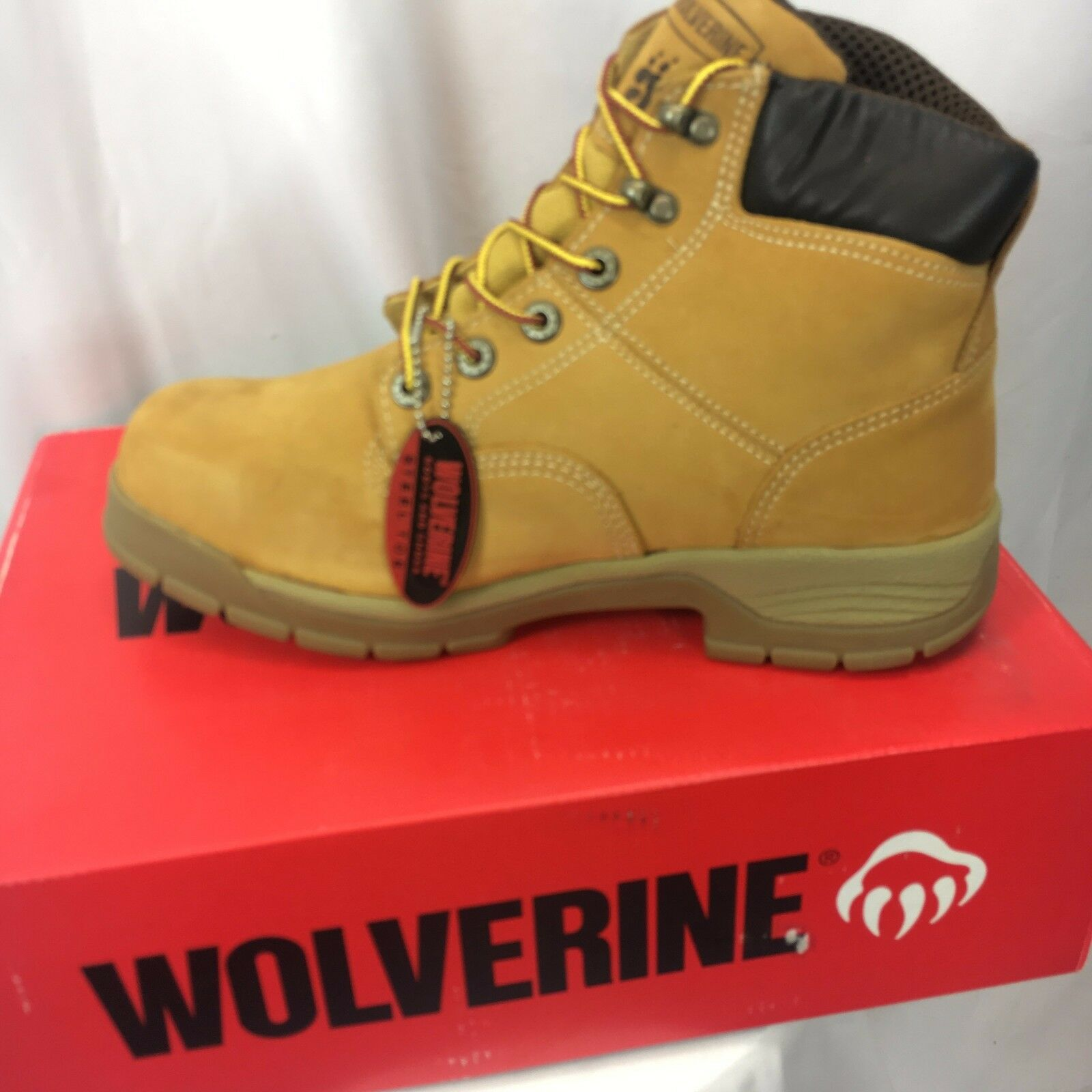 Men's Wolverine 6  Steel Toe WP Work Boot W05065