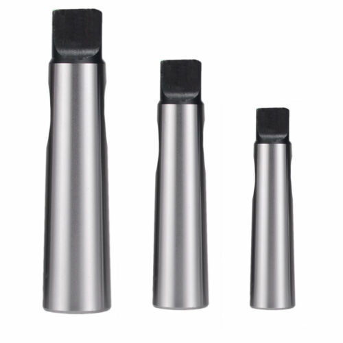 3PCS Morse Taper Drill Sleeve Reducing Adapter MT1 to MT2 MT2 to MT3 MT3 to MT4