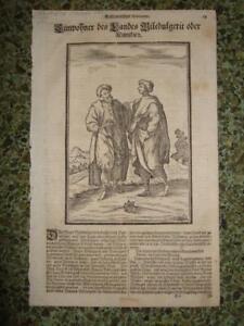 1690,COSTUMES,N/W.AFRICA,SAHARA,MAURITANIA,MALI,NIGER,CHAD,LIBYA,ALGERIA[SUDAN]