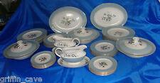 Large Royal Doulton ROSE ELEGANS Dinner Service 12 settings