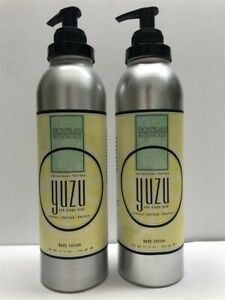 Lot-of-2-Archipelago-Botanicals-Yuzu-amp-Grape-Seed-Body-Lotion-17-oz-As-Imaged
