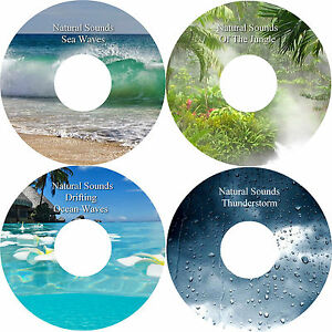 Natural-Sounds-4-CD-Relaxation-Stress-Anxiety-Relief-Deep-Sleep-Healing-Nature