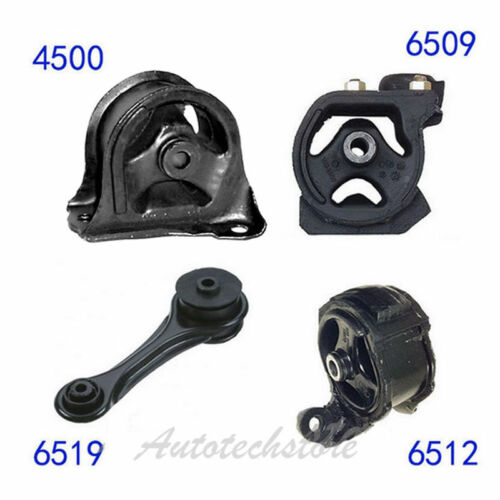 6509 4500 6519 6512 Manual Trans Engine Motor Mount For 90-93 Honda Accord 2.2L