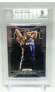 2019-20-Prizm-Zion-Williamson-Rookie-Basketball-Card-248-BGS-9-MINT-Pelicans-RC