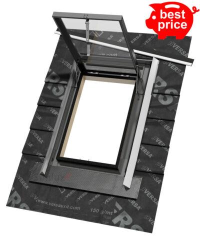 Sunlux 47 cm x 73 cm Haut Hung Skylight accès Fenêtre de toit Rooflight avec clignotant