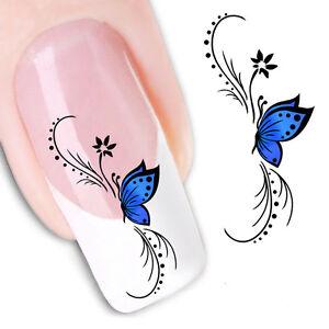 Pegatinas Stickers Nº 14 Decoración De Uñas Nail Art Fx1439