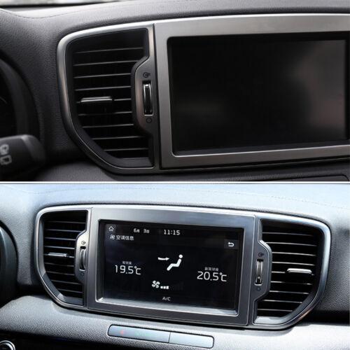 2017-2020 For Kia Sportage ABS Navigation Screen Panel Cover Trim Frame Bezel