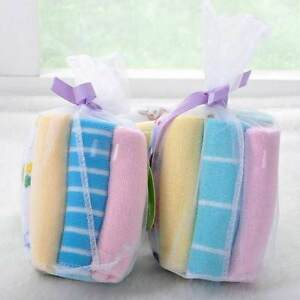8pcs New Soft Baby Kids Children Infant Boy Girl Bath Towel Washcloth Wipe