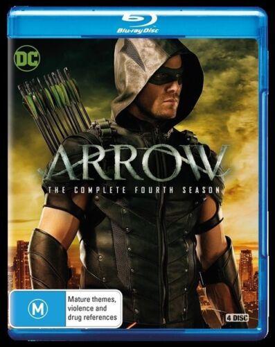 1 of 1 - Arrow : Season 4 (Blu-ray, 2016, 4-Disc Set)  New, ExRetail Stock, Genuine D120