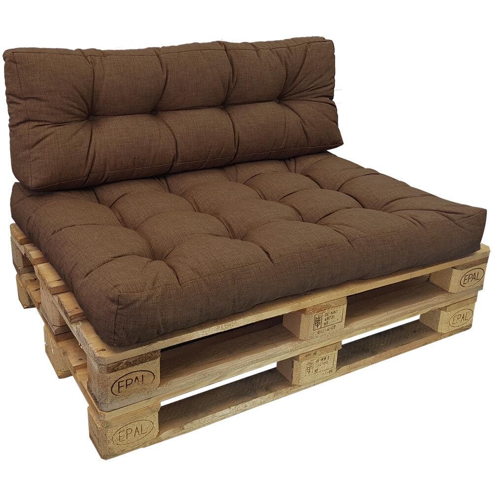 Palettenkissen Palettenkissen Palettenkissen Tino Lounge Sitzkissen+Rückenkissen Palettenpolster Sitzpolster 4ed4fb