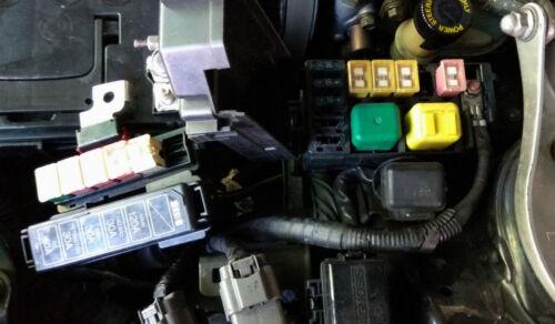 lot 9 pcs MAZDA RX-7 FD Sicherungen Motorraum Fuses engine compartment