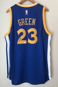 397a807a997 Image is loading Draymond-Green-Signed-Warriors-Autographed-Authentic-Auto -Swingman-