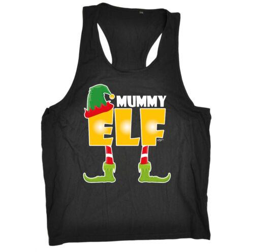 Mummy Elf Birthday Joke Humour Gift Present Novelty clothing TANK TOP