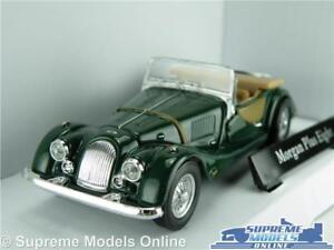 Morgan-PLUS-EIGHT-Voiture-Modele-Echelle-1-43-Vert-CARARAMA-Sports-Haut-Ouvert-K8