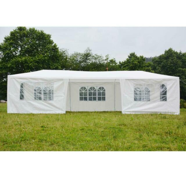 Outdoor 103*23 Canopy Party Wedding Tent Gazebo Pavilion Cater Events 3 Sidewall