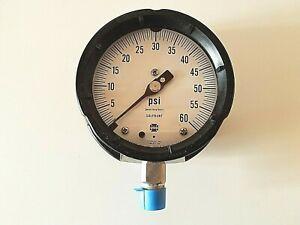 "2 AMETEK AIR PRESSURE GAGE GAUGE 0-60 PSI AIR COMPRESSOR BROILER 1//4/"" NPT NEW"