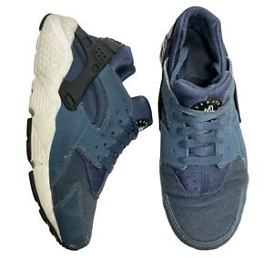Nike-Youth-Huarache-Run-Size-6Y-Women-039-s-7-5-GS-Shoes-Blue-White-654275-416