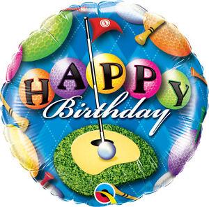 BIRTHDAY-BALLOON-18-034-GOLF-BIRTHDAY-PARTY-SUPPLIES-GOLFER-QUALATEX-FOIL-BALLOON