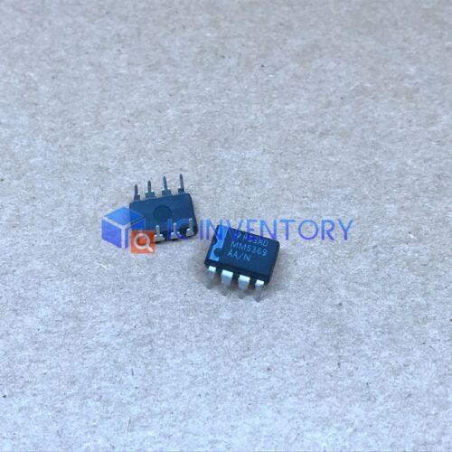 Lot de 5PCS MM5369AA//N Encapsulation MM5369 17 étape Oscillateur//Diviseur DIP-8