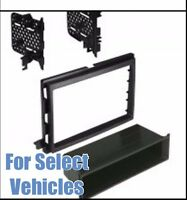 Car Stereo Radio Install Mount Dash Trim Car Face Kit For Select Ford Vehicles