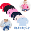 BABY LONG SLEEVE T-SHIRT TOP TEE PLAIN 100/% SOFT COTTON COLOURS BOYS GIRLS GIFT