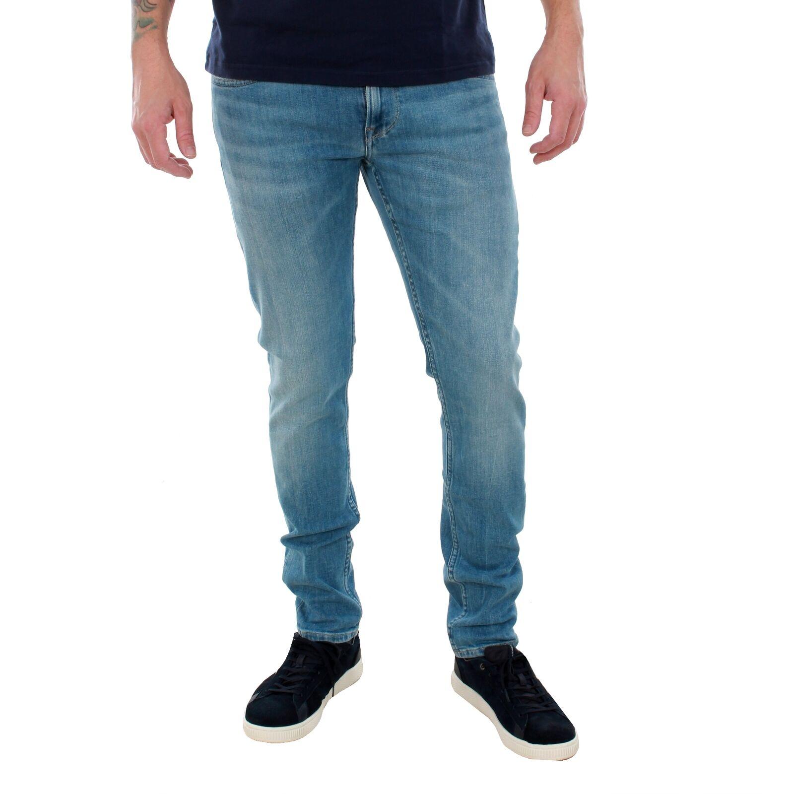 Pepe Jeans Hombre Jeans pantalón low high waist blue 20964-60