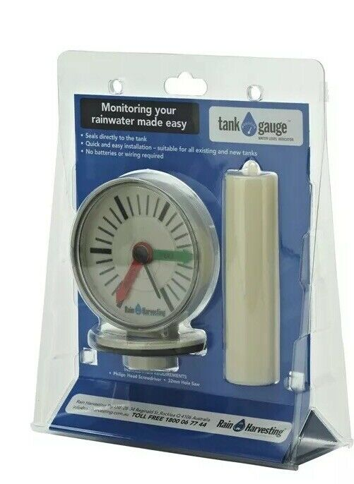 Rain Harvesting Water Tank Level Gauge Quick and easy to install Seals directly