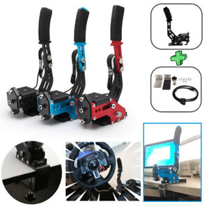 14Bit USB SIM Handbrake pour Racing Games Steering Wheel Stand G27/G29 G920 PC F