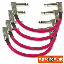 """Strukture S6P48 Dual Right Angle Woven Patch Cable 3-Pack 6/"""" inch"""