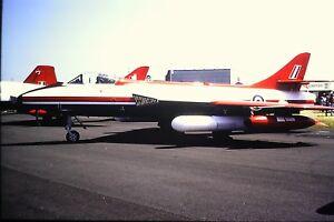 4-394-2-Hawker-Hunter-Royal-Air-Force-Kodachrome-SLIDE