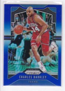 2019-20-Charles-Barkley-199-Panini-Prizm-76ers-Blue-Prizm