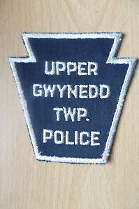 Patches-UPPER-GWYNEDD-TWP-USA-POLICE-PATCH-NEW-apx-10x10-cm