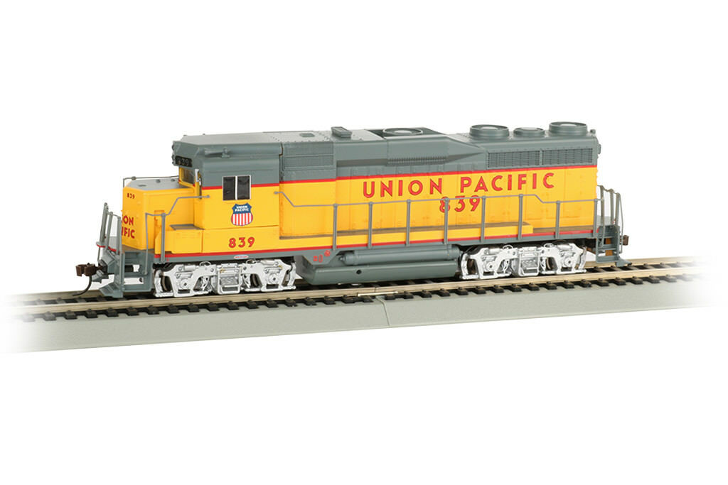 Bachmann 67605, ho - skala, union pacific   839, gp30 - dcc & sound