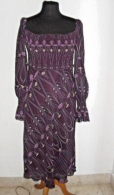 Particolare Vestito ZARA Lungo con Stampe stile impero Tg M COMPRALO SUBITO   eBay
