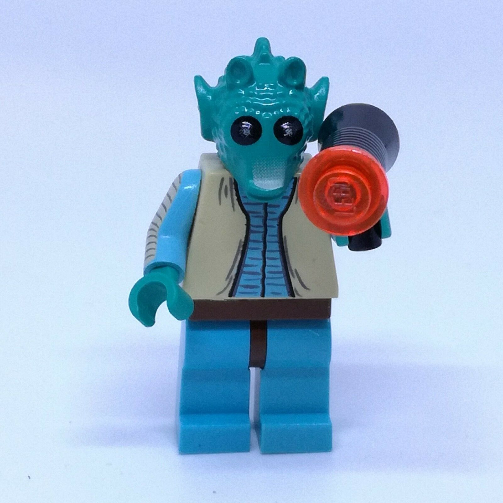 Lego Star Wars - Original Greedo with Blaster - From 4501 Mos Eisley Cantina