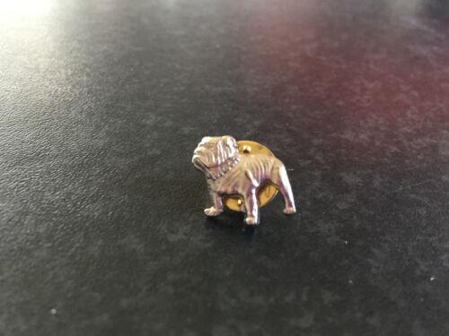 New Genuine Mack Merchandise Silver Mack Bulldog Tie//Lapel//Hat Pin Badge