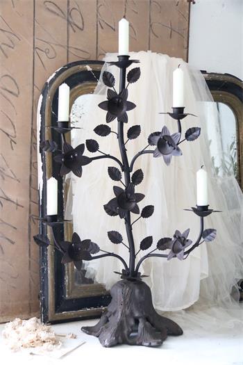 benvenuto per ordinare Jeanne d árc árc árc LIVING altare in candele in metallo patina DARK MarroneeE SHABBY  negozio a basso costo